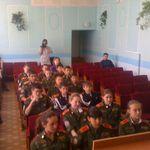 <h2>28 мая 2009 года состоялась встреча с кадетами СОШ №4 г.Дюртюли </h2>